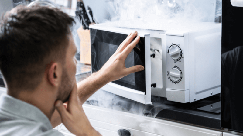 White Smoke From Microwave (Causes And How To Fix)