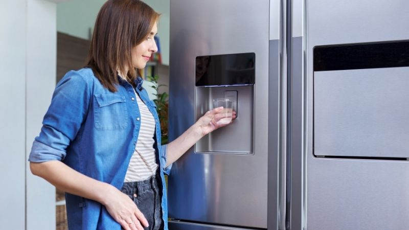 what do refrigerator water filters remove