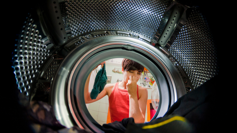 Why Does My Washer Smell Like Rotten Eggs?